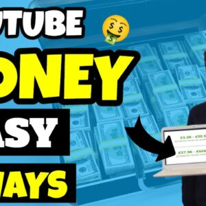 3 Ways To Make Money Online With YouTube EASY METHOD