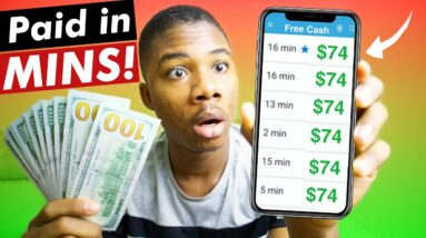 New Free Paypal Money App Pays You $74.92 In 5 Mins! ✅ (Make Money Online 2021)