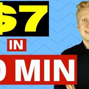 I EARNED $7 IN 10 MINUTES Downloading a New Money-Making App (PROOF!)