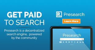 presearch,earn money from presearch,how to earn money from presearch,how to earn money by searching web on mobile phone