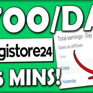 Earn $700/Day in 5 Minutes | Digistore24 Tutorial for Beginners (Digistore24 Affiliate Marketing)