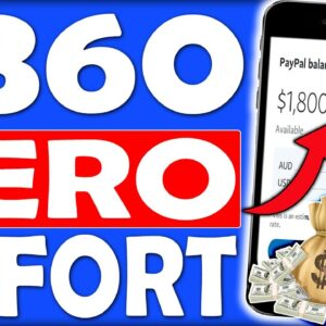 Start Earning $360 a Day With ZERO EFFORT Using Your Phone (Make Money Online)