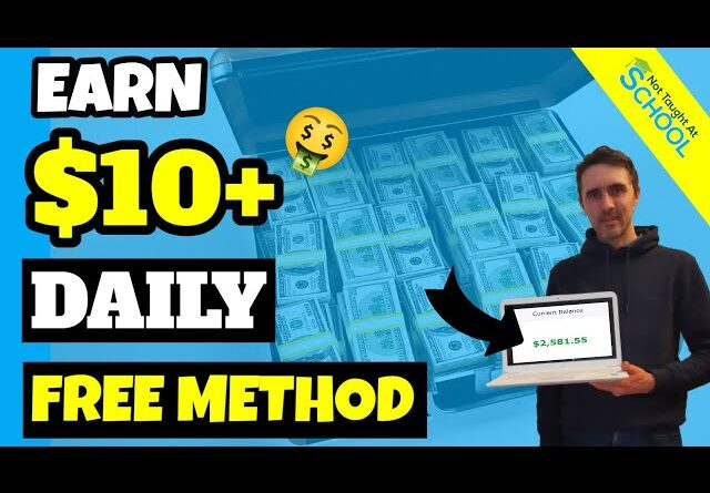 Earn $10 Over And Over Using This FREE Website